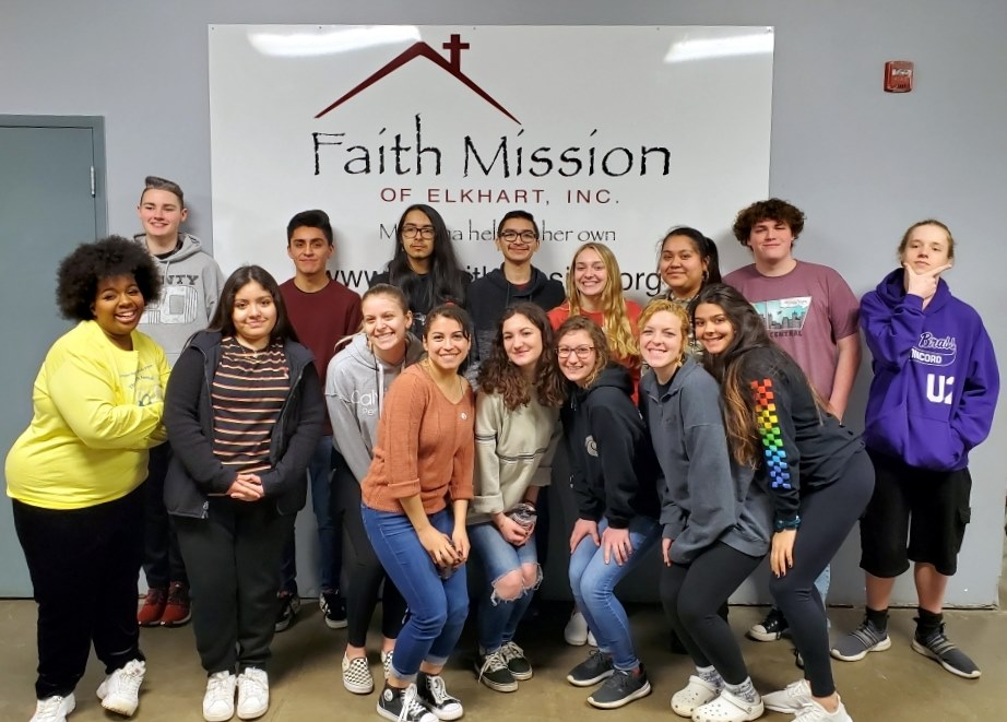 #Thankyou to our Concord High School (Indiana) Sociology class #volunteers for #…