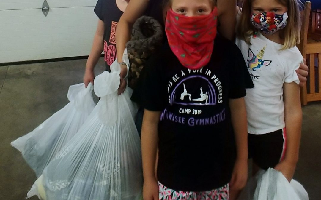 #Thankyou so much to these wonderful girls from Tender Tots daycare in New Paris…